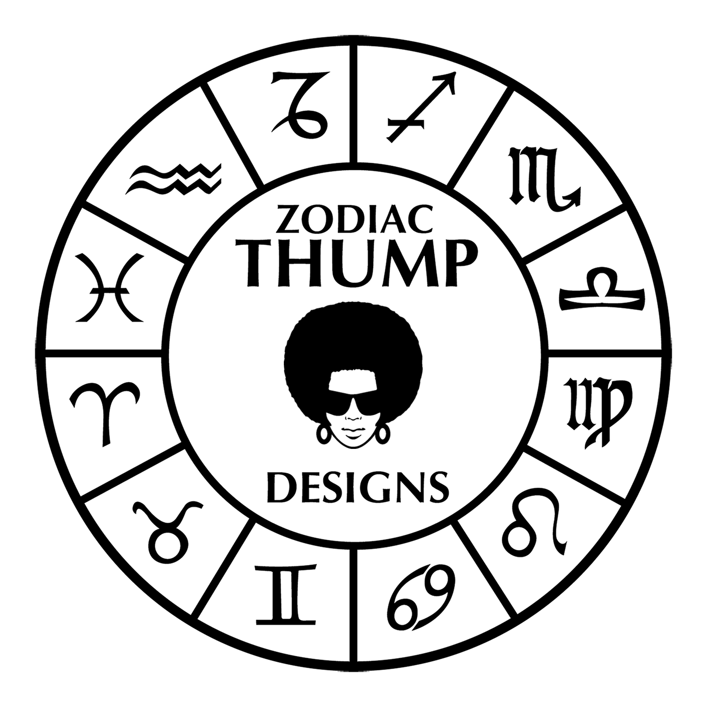 Zodiac Thump Designs